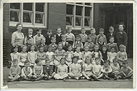 old photo of Barnes Road School South Shields